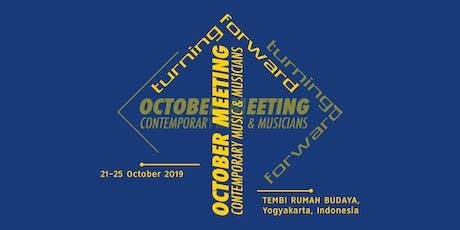 """October Meeting - CMM: """"Turning Forward"""" tickets"""
