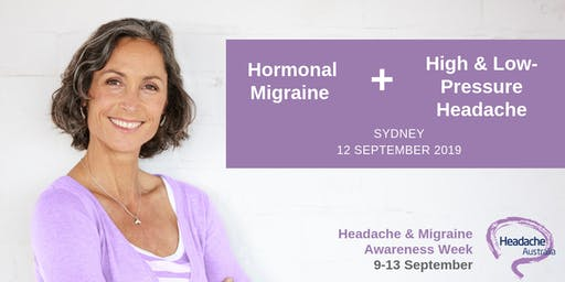 Hormonal Migraine and High/Low Pressure Headache