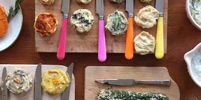 Ein Abend mit vielen Sorten richtig gutem veganen Käse /planbased cheese!