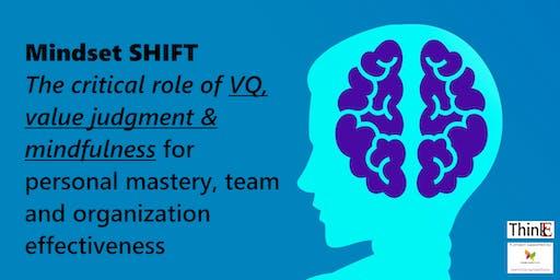 Mindset SHIFT for personal, team & organization effectiveness