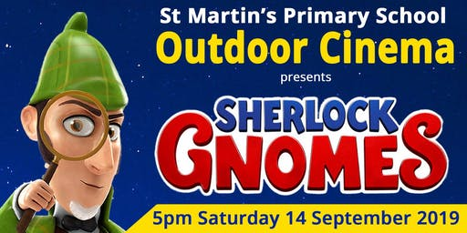Sherlock Gnomes Outdoor Cinema 2019