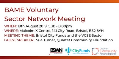 BAME Voluntary Sector Network Meeting