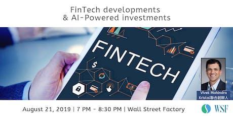 Hong Kong FinTech Developments & AI - Powered Investments tickets