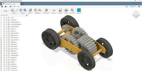 Autodesk Fusion 360 Workshop Tickets