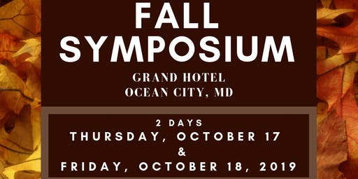 2019 Mid-Eastern APCO Fall Training Symposium