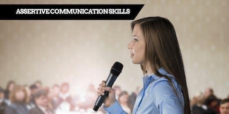 Assertive Communication Skills - PERTH tickets