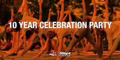 Stepz Fitness 10th Birthday