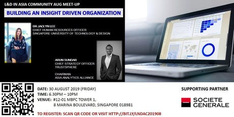 L&D Community Meet-Up: BUILDING AN INSIGHT DRIVEN ORGANIZATION tickets