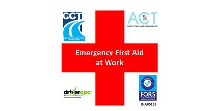 Emergency First Aid At Work - Drivers CPC Course - Thatcham - Newbury tickets