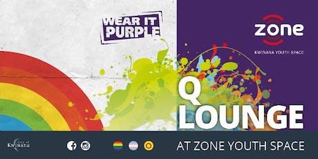 Q Lounge - Wear It Purple Day Party tickets
