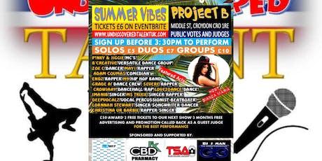 Summer Vibes Showcase  tickets