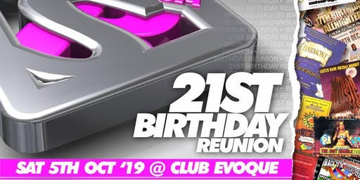 Brownsuga 21st Birthday Reunion Party