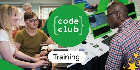 Code Club Training Workshop and Taster Session - Stoke tickets