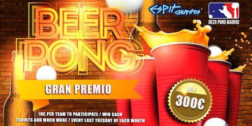 BEER PONG CHAMPIONSHIP ☛ 1st Prize 300€