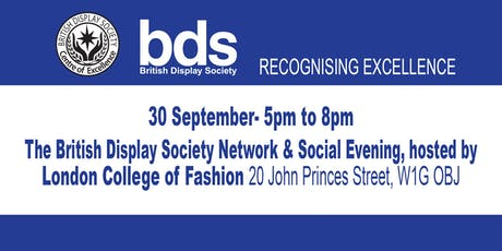 British Display Society Network & Social Evening tickets