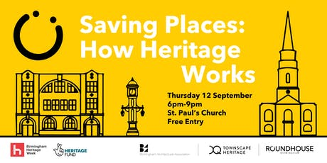 Saving Places: How Heritage Works tickets