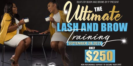 The Ultimate Lash & Brow Training  tickets