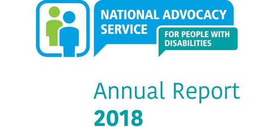 National Advocacy Service Annual Report 2018 Launch