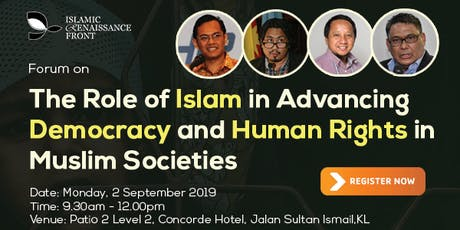 "Jaringan Nusantara's Public Forum on: ""The Role of Islam in Advancing Democ tickets"