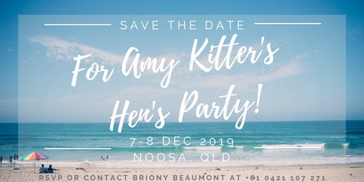 Amy Kitter's Hen's Party