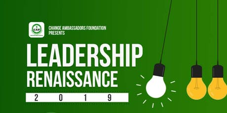 LEADERSHIP RENAISSANCE tickets