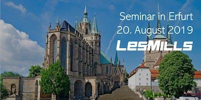 LES MILLS Seminar in Erfurt