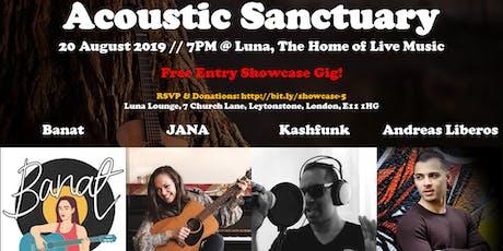 Showcase #5: Banat // JANA // Kashfunk // Andreas Liberos tickets