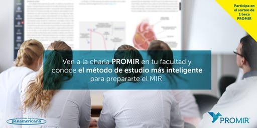 Charla PROMIR en la Facultad de Medicina Alicante UMH