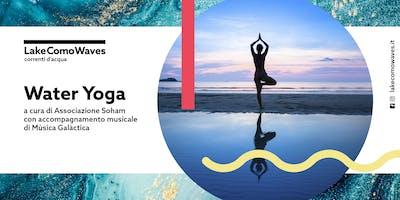 Water Yoga @Lake Como Waves con accompagnamento musicale