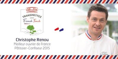 Démonstration de pâtisserie par Christophe Renou