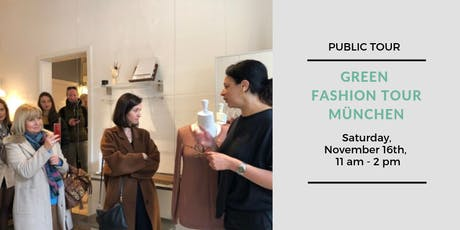 Green Fashion Tour München - Public Tour November Tickets