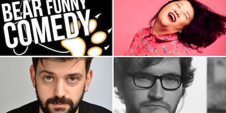 Bear Funny Comedy: Evelyn Mok, Fin Taylor & Josh Massen tickets