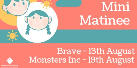 Mini Matinee - Monsters Inc (Free Film Screening) tickets