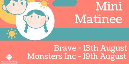 Mini Matinee - Monsters Inc (Free Film Screening)