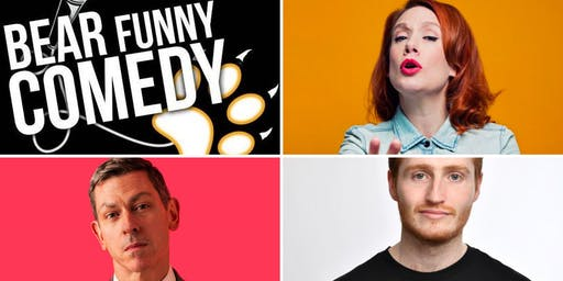 Bear Funny Comedy: Sara Barron, David Mills & Ali Woods