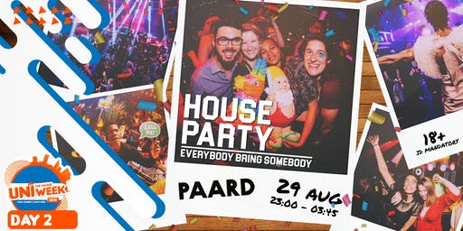 UNIweek Day 2: House Party - Everybody Bring Somebody