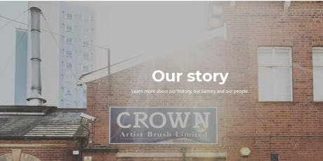CROWN ARTIST BRUSH -OUR JOURNEY SINCE 1946 TO DATE tickets