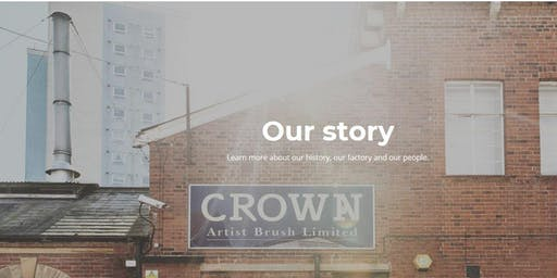 CROWN ARTIST BRUSH -OUR JOURNEY SINCE 1946 TO DATE