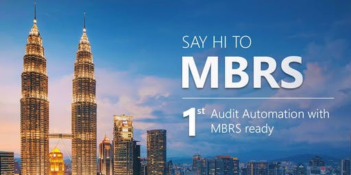1st Audit Automation with MBRS Ready (Online)