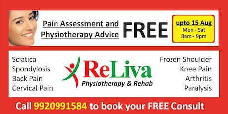 ed9ccff7d3f0 FREEDOM FROM PAIN : Physiotherapy Offer in Mira Road Tickets ...