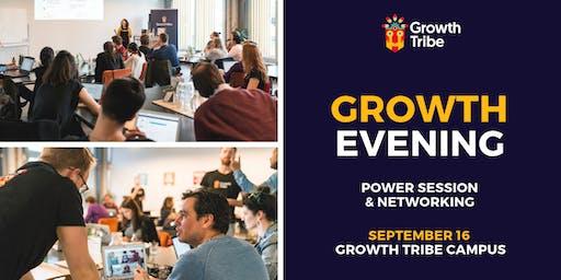 Growth Hacking Open Evening (16 September)