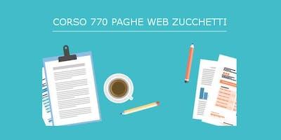 Corso 770 2019| PAGHE WEB ZUCCHETTI