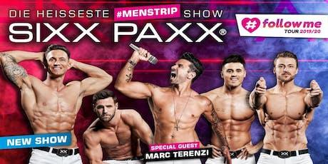 SIXX PAXX #followme Tour 2019/20 - Neumünster (Theater in der Stadthalle) Tickets