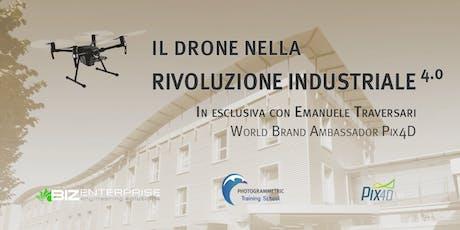 Il drone nella rivoluzione industriale 4.0 - Piemonte biglietti