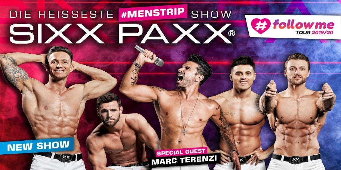 SIXX PAXX #followme Tour 2019/20 - Berlin (Columbiahalle)