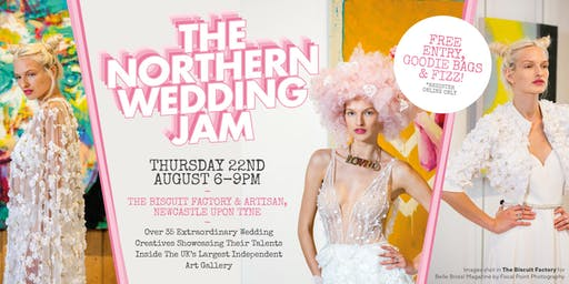 The Northern Wedding Jam - A Super Creative Evening Wedding Show