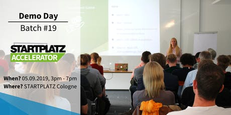 STARTPLATZ Accelerator Demo Day - Batch #19 Tickets