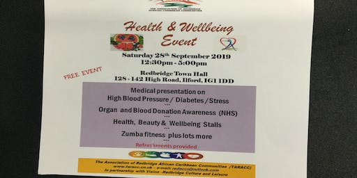 Health and Wellbeing Event