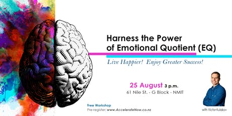 Harness the Power of Emotional Quotient (EQ) - Free Workshop tickets
