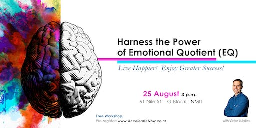Harness the Power of Emotional Quotient (EQ) - Free Workshop
